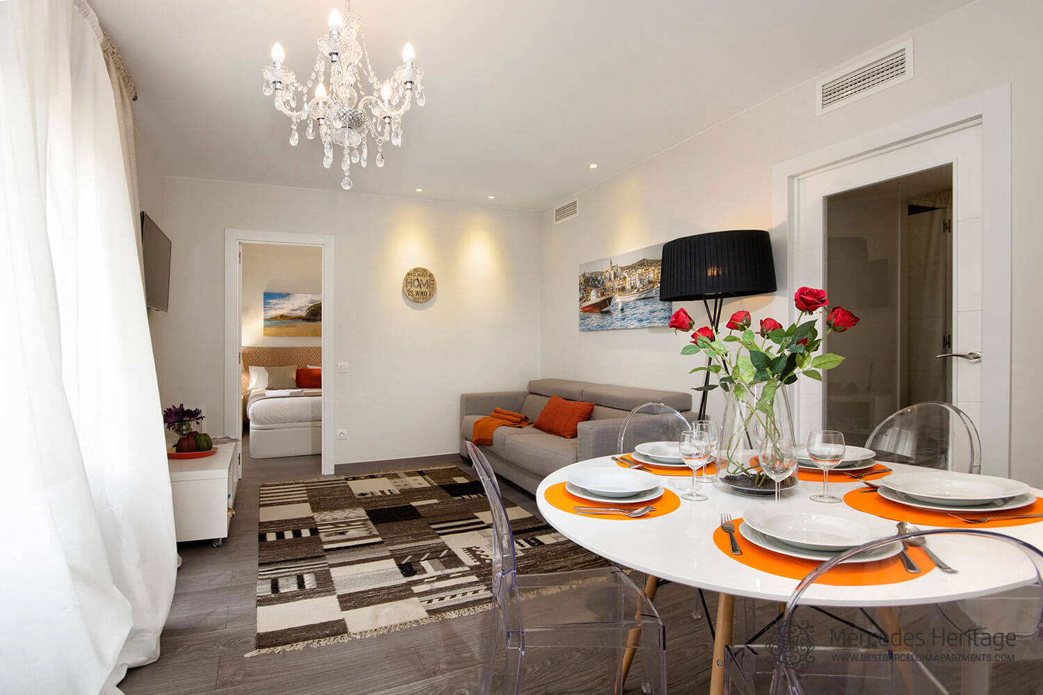 4 Bedrooms For 6 Pers Apartments In Barcelona Mercedes