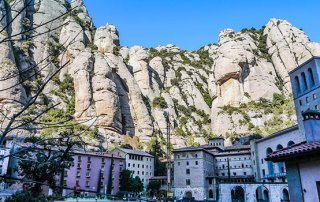 Montserrat monastery… beautiful place to visit close to Barcelona.