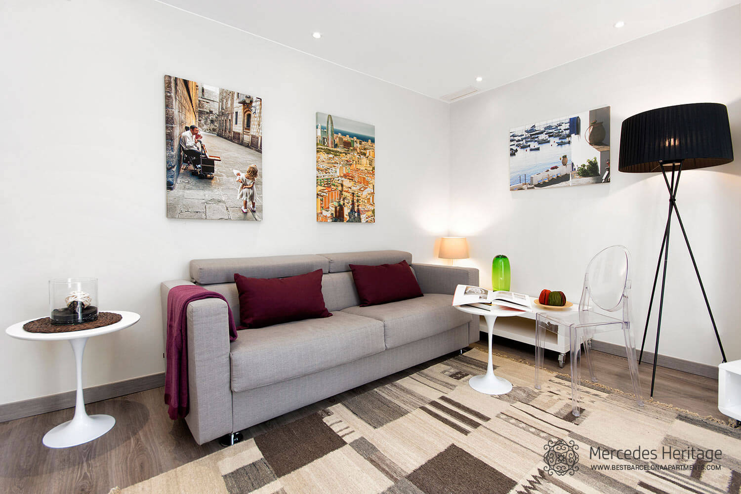 4 room luxury apartment barcelona